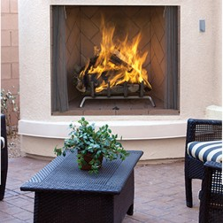 IHP Superior WRE6000 Outdoor Wood burning Fireplace