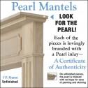 """Pearl Mantels 50"""" Alamo Fireplace Mantel 111-50"""