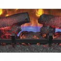 """Classic Flame 25II310GRA 25"""" Curved Spectrafire Plus Insert with Safer Plug"""