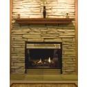 "Pearl Mantels 48"" The Homestead Shelf Antique Finish 418-48-90"