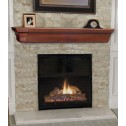 Pearl Mantels The Lindon Shelf Cherry Distressed Finish 490-72-70
