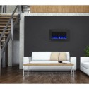 Napoleon NEFL42FH Allure 42 Electric Fireplace, Glass Front, Black