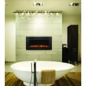 Napoleon NEFL42FH-MT Allure 42 Phantom Electric Fireplace, Mesh Screen, Matte Black