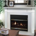 Pearl Mantels  The Berkley Fireplace Mantel 520-48