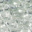 IHP Superior GP43C 6.0 lb. Bag Smooth Glass Pebbles - Clear