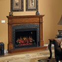 "Classic Flame PRO 36EB110-GRT 36"" Black Builders Electric firebox Traditional"
