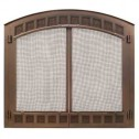 Majestic Contour80BK Contour Cabinet Style Mesh Door Black For SB80
