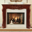 Pearl Mantels The Deauville Fireplace Mantel-134