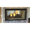 Majestic Designer See-Through Wood Burning Fireplace