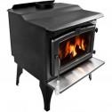 Pleasant Hearth Medium Wood Burning Stove with Legs WS-2720