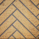 Napoleon GD811-KT Decorative brick panels and hearth strip herringbone/sandstone
