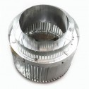 Majestic RLTCF11 Round Louvered Termination for CF11 Pipe