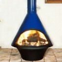Malm Lancer Wood Burning Fireplace, Matte Black or Porcelain Colors