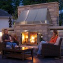Napoleon GSS42CFN Riverside Outdoor Natural Gas Fireplace