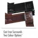 Napoleon Fireplaces CISKN Cast iron surround kit /Majolica Brown