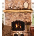 Pearl Mantels Cedar Log Shelf