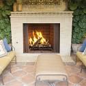 IHP Superior WRE4500 Outdoor Wood burning Fireplace